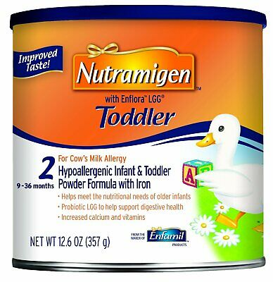 Enfamil Nutramigen With Enflora Lgg Toddler Powder Formula - 12.6 Oz (Pack of 6)