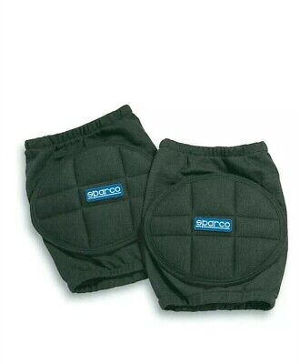 00156N Sparco Racing Protective Knee Pads Black One Size - Genuine Sparco Pads!