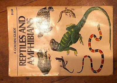 Golden Press Guide Reptiles & Amphibians Reference  - Free US Shipping