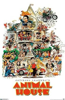ANIMAL HOUSE - ONE SHEET MOVIE POSTER 24x36 - CLASSIC 831