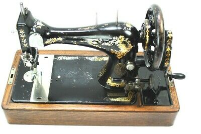 Antique Singer 28K Hand Crank Sewing Machine c1898 - FREE Shipping  [5353]