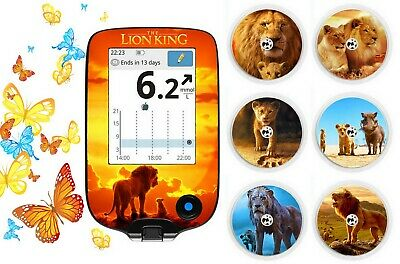 Libre Freestyle Sticker For Reader And Sensor Decorating