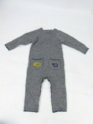 Stella McCartney Boys Age 12 Months Cashmere Baby Grow BNWTS