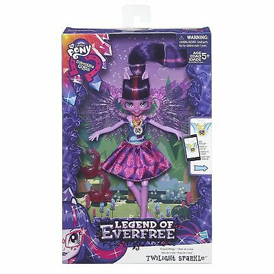My Little Pony B7535 Equestria Girls Crystal Wings Twilight Sparkle Toy Doll