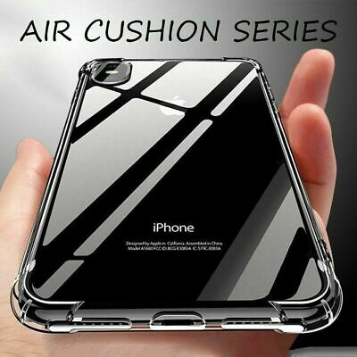 Case Shock Proof Crystal Clear Soft Silicone Gel Bumper Cover for iphone 5 5s SE