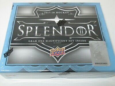 2017-18 Upper Deck Splendor Hockey Hobby Box