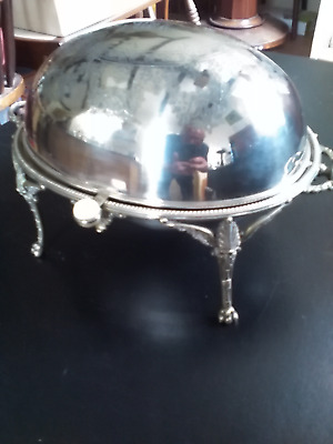 Vintage  Silver Plated  Country House Tureen / Serving Dishes