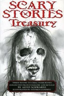 Scary Stories TREASURY Tales SET COLLECTION Schwartz Gammell