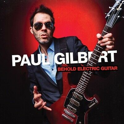 Paul Gilbert CD Behold Electric Guitar 2019 New Release * blues rock / fusion