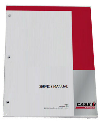 CASE IH Magnum 180 200 220 Powershift & CVT Tractor Service Manual PN# 47748096