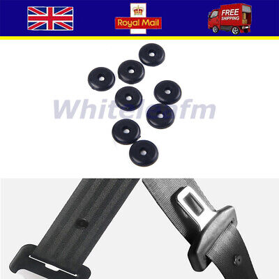 4X Seat Buckle Clip Belt Buttons Holders Studs Retainer Stopper Rest Universal