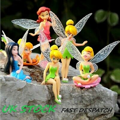 "Fairy Set 3.9"" Garden Decorations Miniature Figurine Micro Landscaping Ornaments"