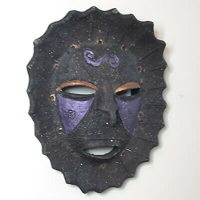 Decorative Vintage Wall Mask of African Origin