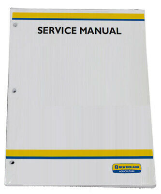 New Holland TN75FA,TN85FA,TN95FA Tractor Service Repair Manual