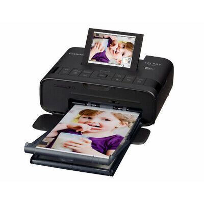 New Canon Selphy CP1300 Photo Printer - Black