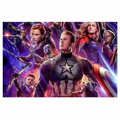 Marvel Avengers Team Poster Self Adhesive Wall Sticker Art Decal Mural