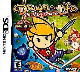 Drawn to Life: The Next Chapter (Nintendo DS, THQ, 2009) BRAND NEW / SEALED