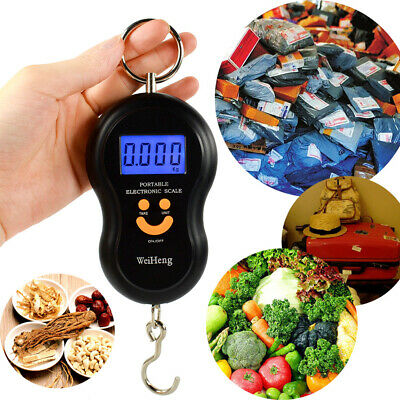 Gourd Shape Mini Portable Digital LCD Hanging Luggage Weight Hook Kitchen Scale