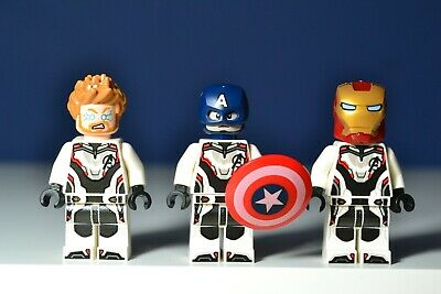 Lego Avengers End Game THOR  IRON MAN & CAPTAIN AMERICA Minifigures 76126