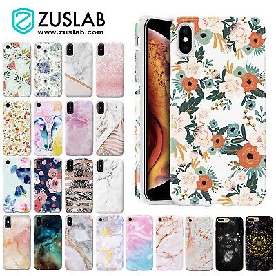 iPhone X XS Max XR iPhone 8 Plus iPhone 7 Plus ZUSLAB Case Shockproof Soft Cover