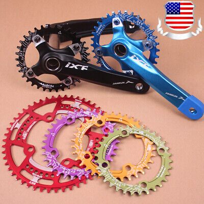 30-52T 104BCD Crank set 170 Narrow Wide Chainring MTB Bike Fit Shimano SRAM KMC