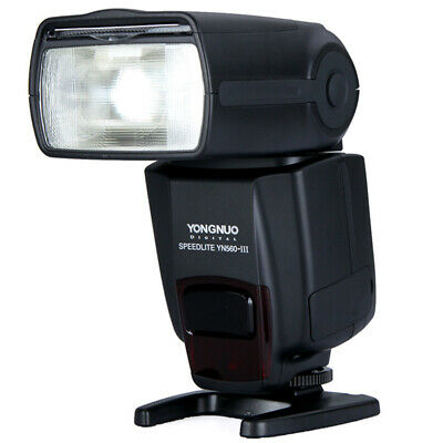 YONGNUO YN560III Flash Speedlite Light RF-602/603 Canon Nikon Pentax Camera T0N3