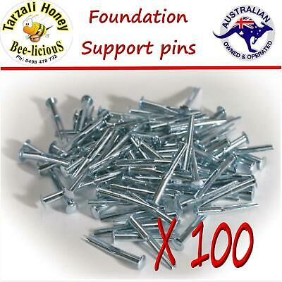 Bee Keeping Bees Wax Support Pins X 100+ Easy Honeycomb Foundation Pins