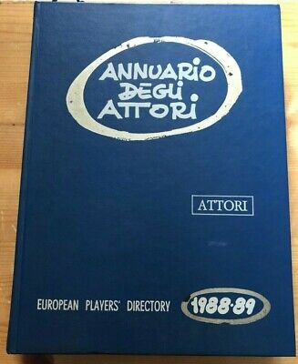 Annuario degli attori European Players' Directory 1988 - 89