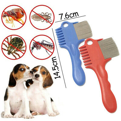 Pet Dog Hair Brush Grooming Combs Shedding Puppy Stainless Pin Plastic Combs Hot