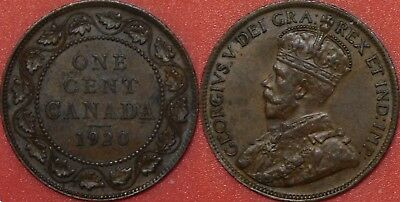 Extra Fine 1920 Canada Large 1 Cent