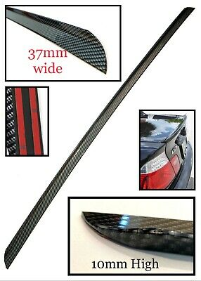 Painted Black Trunk Lip Spoiler R For Jaguar XJ6 XJ40 Sedan 86-94