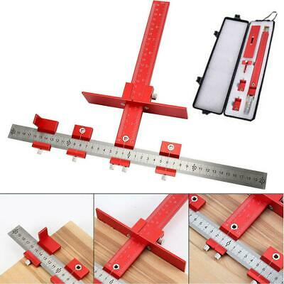 Alloy Drill Guide Sleeve Punch Locator Cabinet Hardware Jig Drawer Pull Dowel