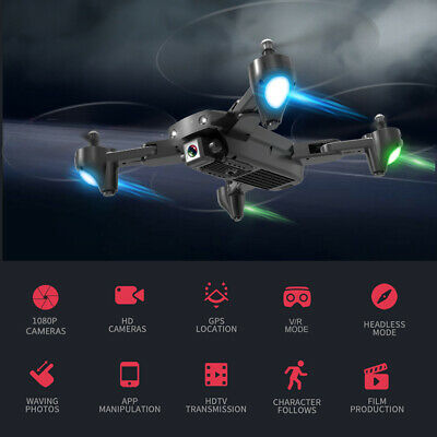 CSJ S166GPS Drone with Camera 1080P Follow me Auto Return Home WIFI FPV V1G9