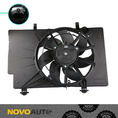 7 Blade Radiator Cooling Fan Assembly BE8Z8C607A for 11-13 Ford Fiesta