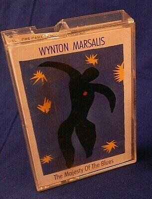 Wynton Marsalis - The Majesty Of The Blues - Cassette - 1991 - CrO2 Metal tape