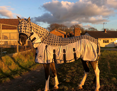 Equidor Lecanto Star Horse Fly Rug with FREE Fly Mask