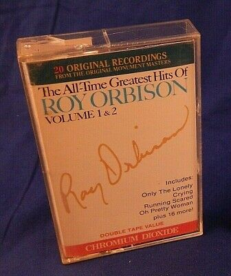 The All-Time Greatest Hits Of Roy Orbison - Volumes 1 & 2 - Cassette CrO2 metal