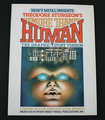 More than Human / The Graphic Story Version / Heavy Metal Presents / Comic