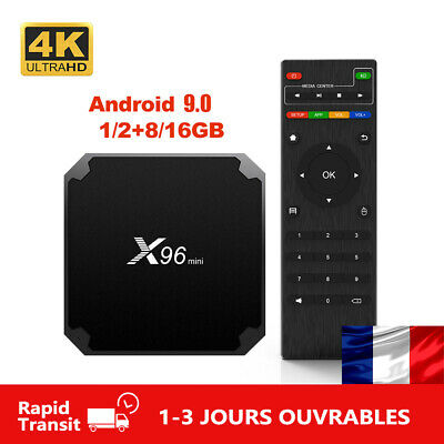 X96mini Android 9.0 TV Box 2.4G Wifi Amlogic Quad Core 4K X96 MINI Media Player