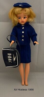Pedigree 1960s Sindy Air Hostess Outfit 1966 Vintage (NO DOLL)