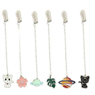Novelty Cherry Cartoon Pendant Bookmark Stationery Office School Sup K9F5