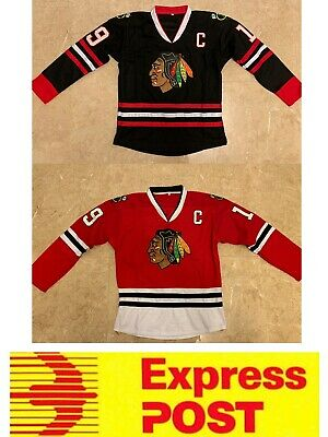Ice Hockey Chicago Blackhawks jersey, #19 Toews jersey, AU stock, Express post