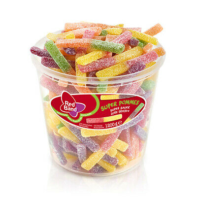 Red Band Super Pommes super sauer und fruchtig 1200g 6er Pack