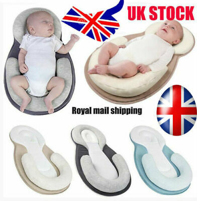 Infant Baby Newborn Pillow Cushion Prevent Flat Head Sleep Nest Pod Anti Roll
