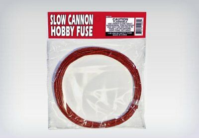 SLOW CANNON UNDERWATER FUSE PACKAGE 3.5mm hobby safety fuse 29s/ft package label