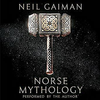 Norse Mythology By Neil Gaiman- Audiobook - NO CD