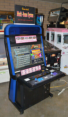 Taito Vewlix Arcade Game Multi-Game System Japan Style SD Cabinet