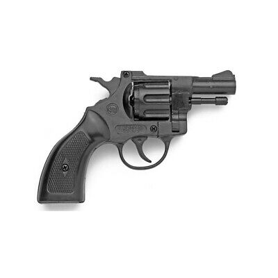 BRUNI DETECTIVE 6MM Olympic Blank Firing Movie Prop Revolver, Wood