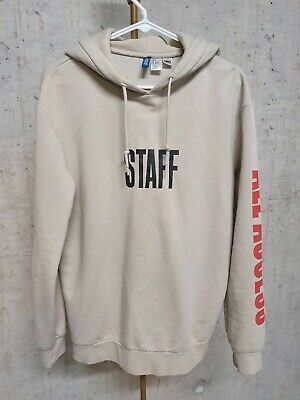 7eee26acb H&M x Justin Bieber Purpose Tour Hoodie Mens Size Size Light Brown / Beige