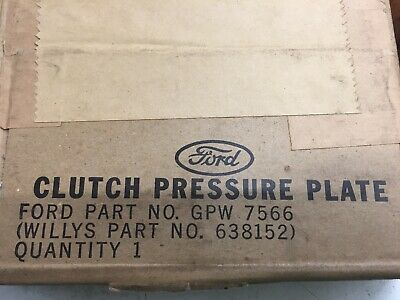 Ford&WILLYS  -G503   Pressure Plate  NOS